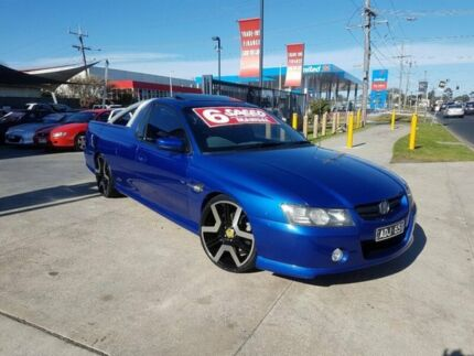 2004 Holden Commodore VZ SS 6 Speed Manual Utility