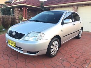 IMMACULATE 2004 TOYOTA COROLLA HATCH Campbelltown Campbelltown Area Preview