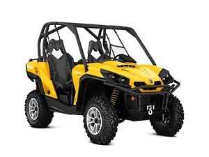 2017 Can-Am Commander XT 800 Side By Side