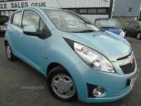 2012 Chevrolet Spark 1.0 LS - Blue - 12 MONTHS PLATINUM WARRANTY!