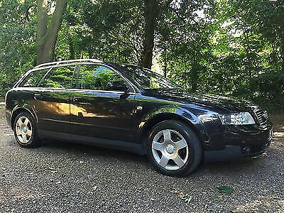 2003 03 Audi A4 Avant 2.0 SE AUTOMATIC ESTATE 2003 BLACK / CAMBELT REPLACED FULL SERVICE HISTORY