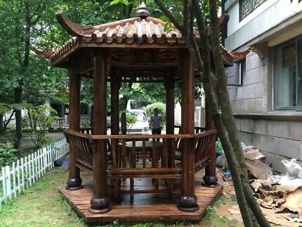 Authentic Chinese Asian Garden Pagoda/Gazebo  2 SIZES - Brand New