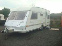 1997 ABI jubilee 5 berth caravan