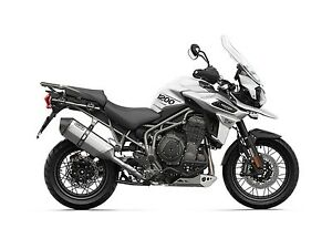2018 Triumph Tiger 1200 XCA Crystal White