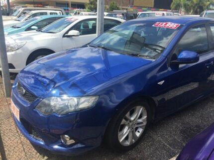 2009 Ford Falcon FG XR6 Blue 6 Speed Auto Active Select Sedan