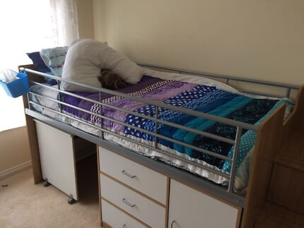 Cabin bunk bed kids