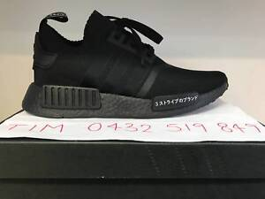 Brand NEW NMD R1 PK Japan Black With TAGS!!! US7.5 to US10.5 Hoppers Crossing Wyndham Area Preview