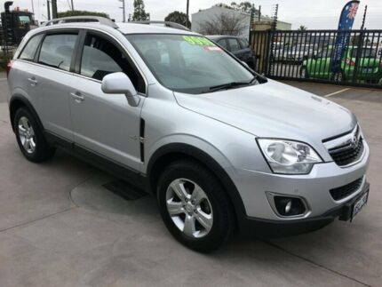 2011 Holden Captiva CG Series II 5 (FWD) Silver 6 Speed Automatic Wagon