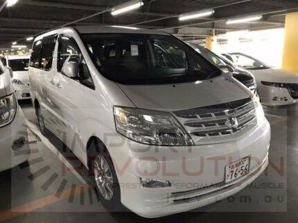 2007 Toyota Alphard ANH10 ANH10 White Automatic Wagon