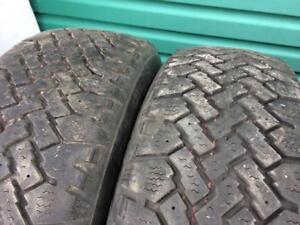 2X 185 70 14 Magna Grip Winter tires Pneus D`hiver 80