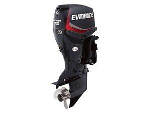 2016 Evinrude Inline 75-HP E75DPGL