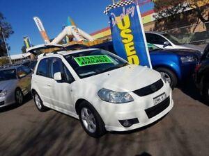 2008 Suzuki SX4 GY White 4 Speed Automatic Hatchback Campbelltown Campbelltown Area Preview