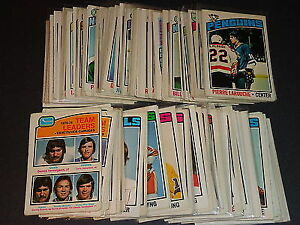 Old Hockey Cards over 200 pc