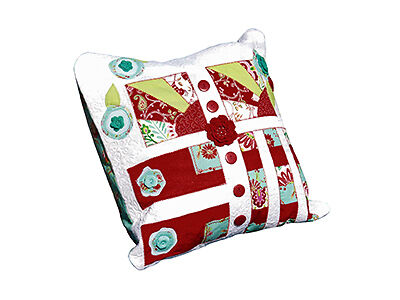 Quilt Pillows for a Master Bedroom