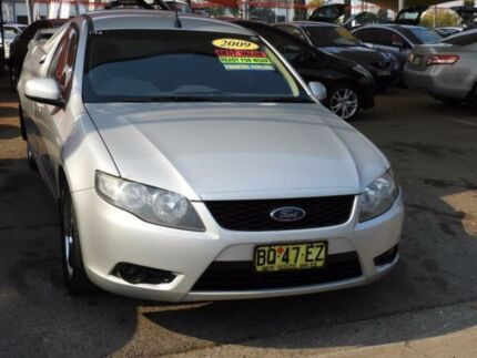 2009 Ford Falcon FG R6 Super Cab Silver 4 Speed Sports Automatic Cab Chassis
