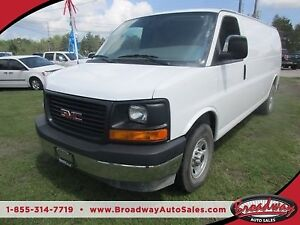 2017 GMC Savana 3/4 TON WORK READY CARGO MOVER 2 PASSENGER 4.8L