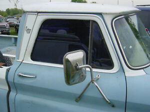 1964-66 GMC Custom Cab chrome set