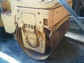 Bomag twin barrel 80 roller