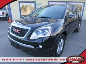 2011 GMC Acadia POWER EQUIPPED SLE EDITION 7 PASSENGER 3.6L - VV