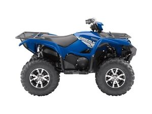 2017 Yamaha Grizzly EPS Steel Blue Moose Jaw Regina Area image 1