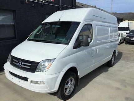 2013 LDV V80 LWB High White 5 Speed Manual Van