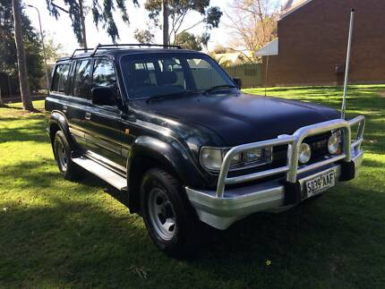 1992 Toyota LandCruiser GXL 7 Seater Dual Fuel Automatic College Park Norwood Area Preview
