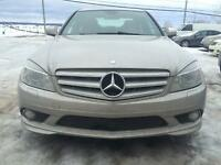2008 Mercedes-Benz C300-Series cuir noir Berline