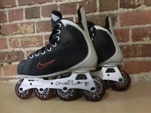 Patins à roues alignées grandeur 7 Nike One Up / Roller Hockey (i011432)