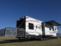 2012 Heartland Road Warrior 415RW Luxury Toy Hauler