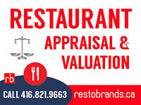 Restaurant Appraisal and Valuation Services - Call us