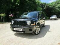 Jeep Patriot Sport 2.4 Black. Long M.O.T. Low Mileage 50000 miles.
