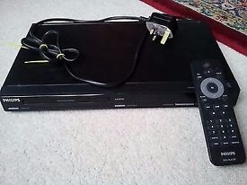 Philips DVP3980 DVD player with leads and remote control for sale