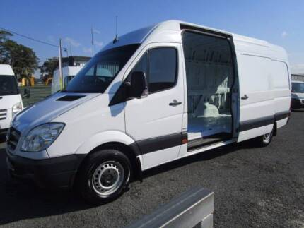 MERCEDES BENZ SPRINTER VAN LWB  with Service History Currumbin Waters Gold Coast South Preview