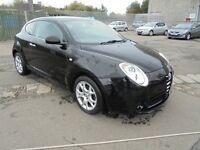 2009 black Alfa romeo Mitto, non smoking, excellent condition, MOT to Oct 17. 80000 miles ONLY £3950