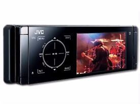 JVC IN CAR RADIO /BLUETOOTH/USB/DVD/