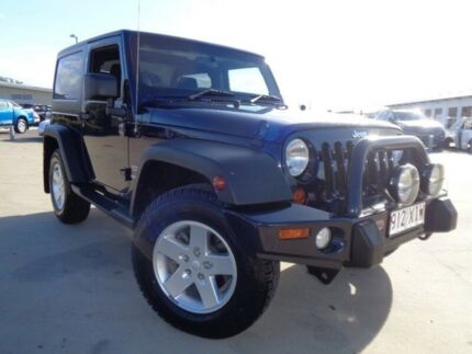 2012 Jeep Wrangler JK MY2013 Overland Blue 5 Speed Automatic Hardtop