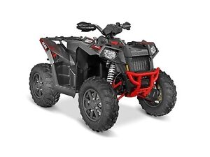2016 Polaris Scrambler XP 1000 Titanium Matte Red