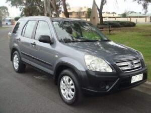 2006 Honda CR-V RD MY2006 Extra 4WD Grey 5 Speed Automatic Wagon Broadview Port Adelaide Area Preview