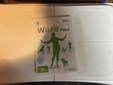 Wii Game Wii Fit Board And Game Included BARGAIN