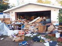will clean garbage trash and haul junk house cleaning