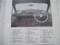 Classic Car Nostalgia! Vauxhall Wyvern Handbook.1956. Free With Every Car! Period Accessory.