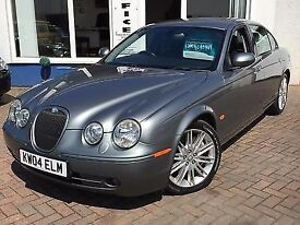 2004 54 JAGUAR S-TYPE 2.7D V6 AUTO SE**FSH INC T-BELT**2 KEYS**