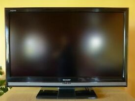 """***SHARP LC-37D65E 37"""" 1080P FULL HD LCD TV - includes mounting bracket***"""