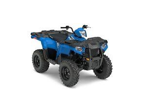 2017 Polaris Sportsman 450 H.O. Velocity Blue ONLY $6199