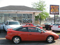 **2002 Saturn SL 3 door** Emission Certified