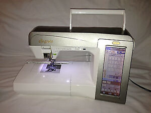 BABYLOCK ELLEGANTE SEWING AND EMBROIDERY MACHINE