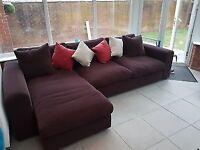 Tetrad vlp corner sofa brown