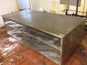 Heavy duty all stainless steel table on Sale