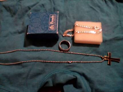Men's Sterling silver jewelry , all brand new