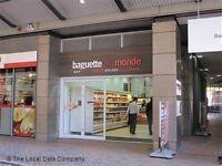 Baguette Du Monde - Brindley Place. 16-20 hours a week